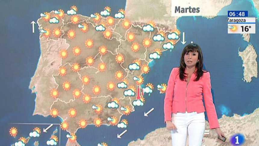 Tiempo estable en el país, salvo en la zona mediterránea