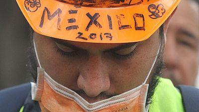 Las autoridades mexicanas piden tiendas de campaña y purificadoras de agua  para atender a las víctimas que se han quedado sin hogar