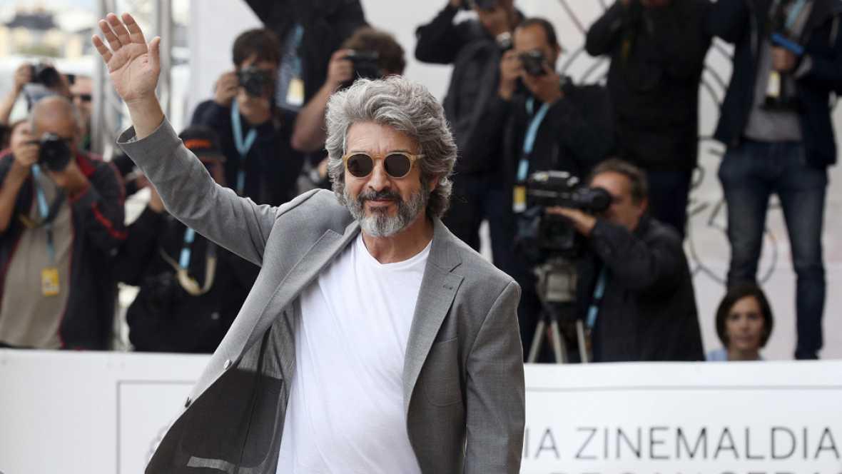 En San Sebastián  Ricardo Darín recoge el Premio Donostia por una vida dedicada al cine