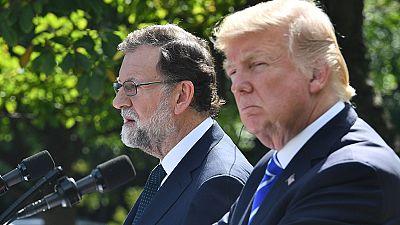 """Trump, ante Rajoy: """"España es un gran país y debería permanecer unido"""""""