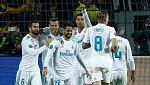 Bale y Cristiano acaban con el muro de Dortmund