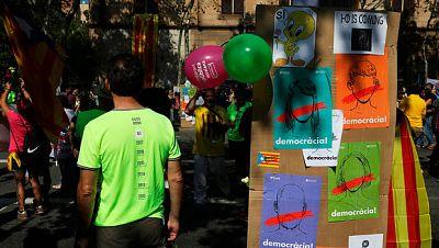 La Fiscalía de Menores advierte a la Generalitat sobre el uso de escolares para apoyar el referéndum