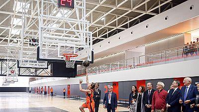El reciente campeón de la Supercopa ha estrenado las mayores instalaciones para baloncesto de formación en toda Europa.
