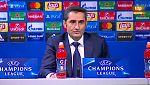 "Valverde: ""Sabíamos que no iba a ser fácil"""