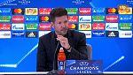 """Simeone: """"El Chelsea fue mejor"""""""