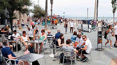Agosto marca un nuevo récord histórico de llegada de turistas extranjeros, con casi diez millones y medio.
