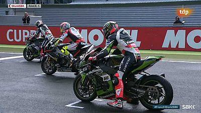Motociclismo - Campeonato del Mundo Superbike. WSBK 1ª Carrera, prueba Magny Cours (Francia) - ver ahora