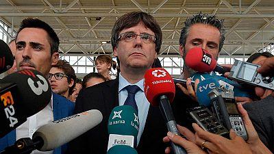 """Puigdemont: """"El Estado ha perdido mucho más de lo que había perdido"""""""