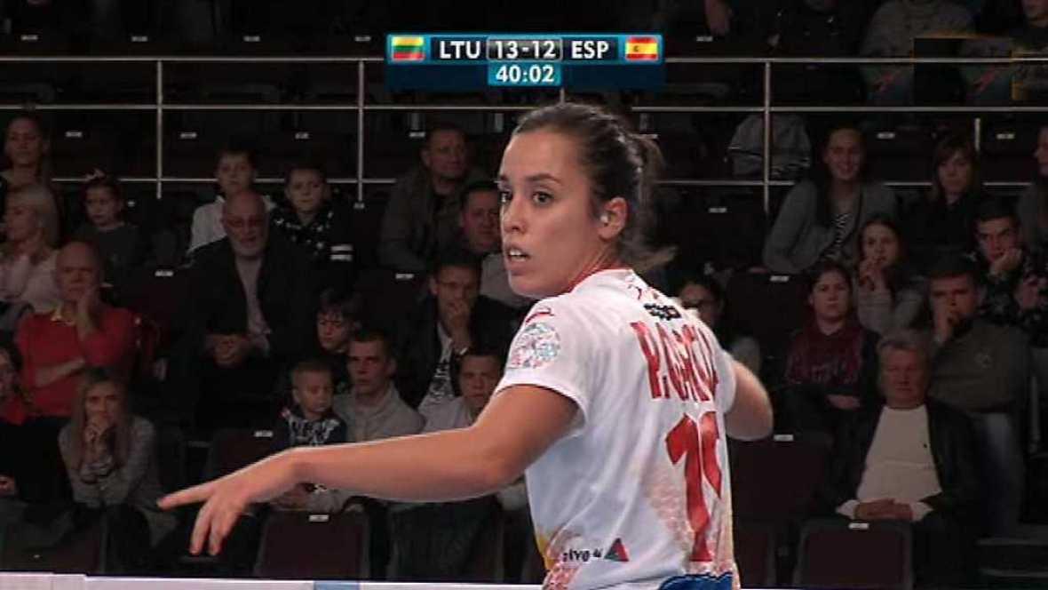 Balonmano - Clasificación Campeonato de Europa Femenino, 2ª jornada: Lituania - España - ver ahora