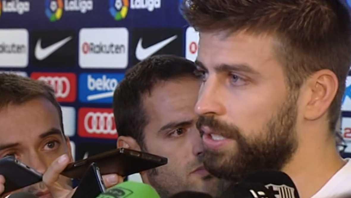 """Resultado de imagen de Piqué, entre lágrimas: """"Si soy un problema, dejo la selección antes de 2018"""""""