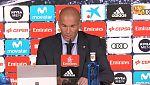 """Zidane: """"Hemos logrado los tres puntos, que es lo importante"""""""