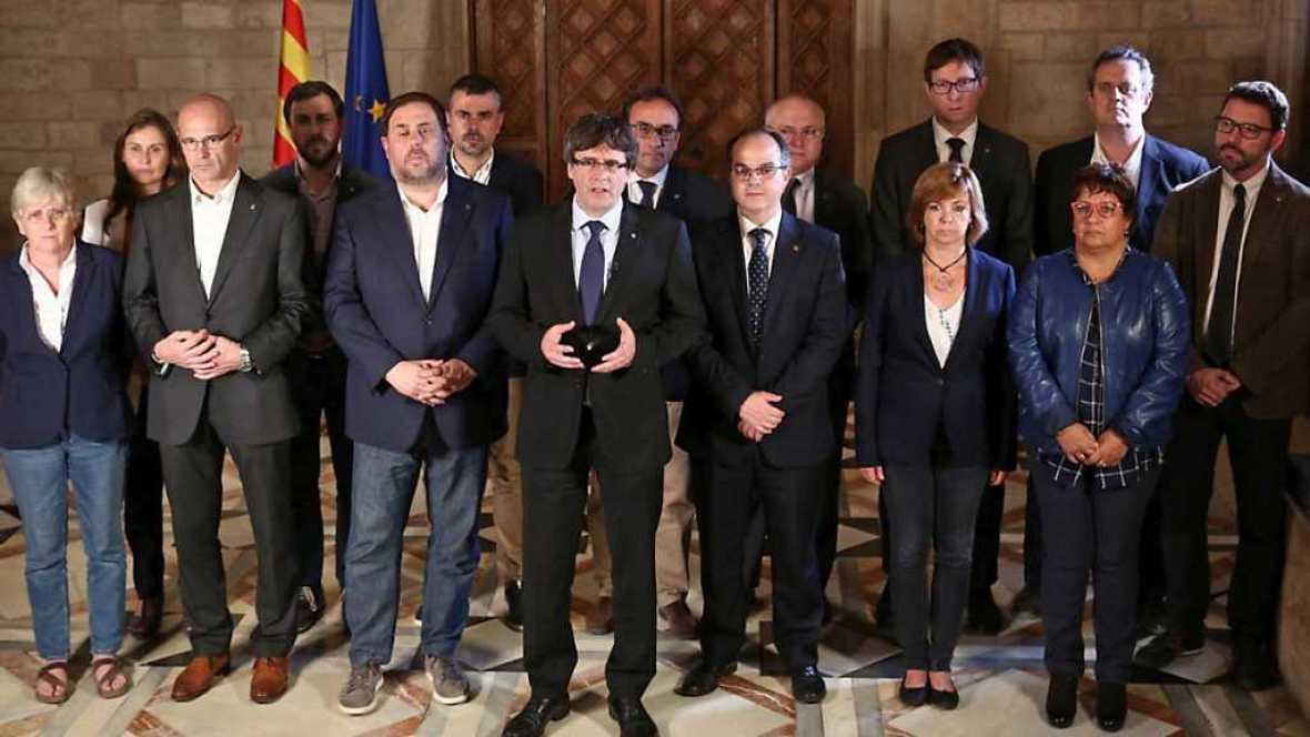 """Especial Informativo - Programa especial: """"Procés"""" catalán (3) - 01/10/17 - ver ahora"""