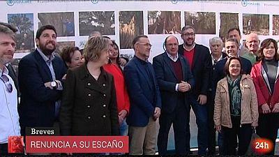 Parlamento - Otros parlamentos - Pedro Antonio Sánchez abandona el parlamento de Murcia - 30/09/2017