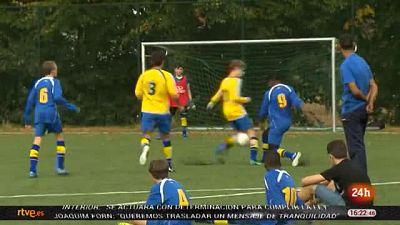 Fútbol y refugiados, la experiencia del Kraainem