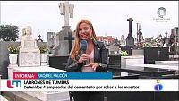 Robos y expolio en cementerios