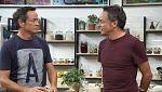 Torres en la cocina - Macarrones vegetarianos. Papillote de salmón