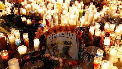 """Pánico en el concierto de Las Vegas tras el tiroteo: """"Había un cuerpo, y otro, y otro..."""""""