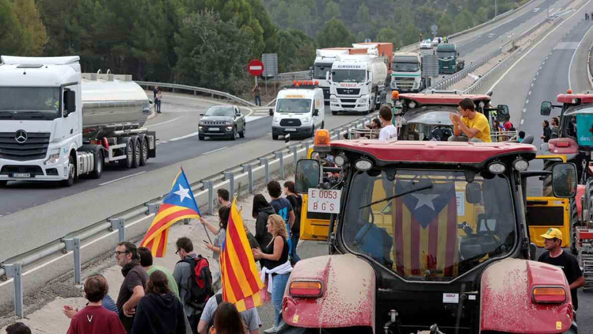 Resultado de imagen de huelga cataluña forotransporteprofesional.es