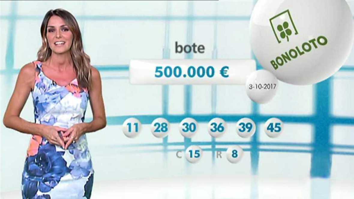 Bonoloto + EuroMillones - 03/10/17 - ver ahora