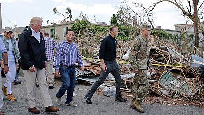 """Trump dice que la emergencia en Puerto Rico """"no es una catástrofe real"""" como fue el Katrina"""