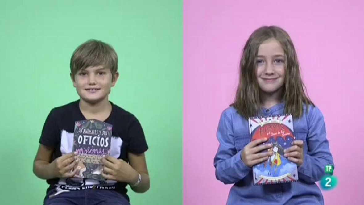 Página Dos - Mini club de lectura con Miguel y Maga