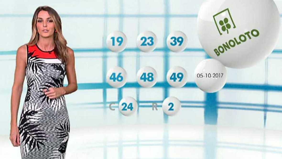 Lotería Nacional + La Primitiva + Bonoloto - 05/10/17 - ver ahora