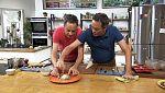 Torres en la cocina - Carpaccio de remolacha y confit de pato