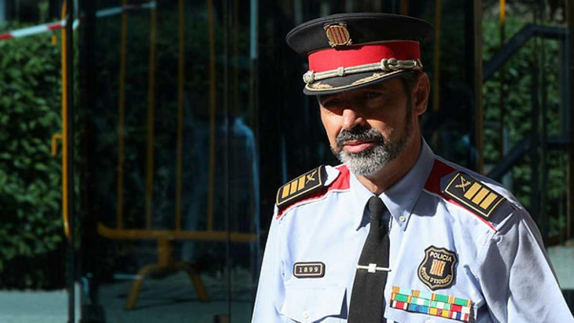 Josep Lluis Trapero tendrá que volver a declarar en la Audiencia Nacional
