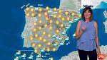 Más calor en la vertiente atlántica y algunas precipitaciones en el Mediterráneo