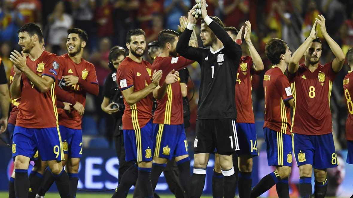 España ha derrotado a Albania (3-0) y ha sellado su clasificación para el Mundial de fútbol de Rusia 2018, que se disputará el próximo verano.