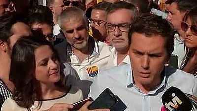 Albert Rivera exige que haya elecciones autonómicas en Cataluña