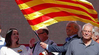 """Borrell: """"Los que no pensamos como los nacionalistas somos tan ciudadanos de Cataluña como ellos"""""""