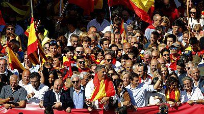 PP y Ciudadanos se han sumado a la convocatoria de Societat Civil Catalana