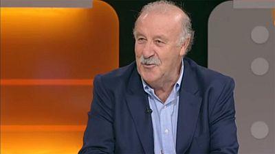 """Vicente del Bosque: """"Para ganar un Mundial hay que tener una pizca de suerte"""""""