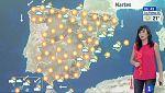 Cielos nubosos en Cataluña, Baleares y Canarias con posibles lluvias