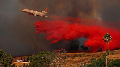 Una serie de incendios deja al menos diez muertos en California