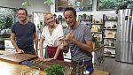 Torres en la cocina - Tagliatelle de tomate y dorada con calabaza