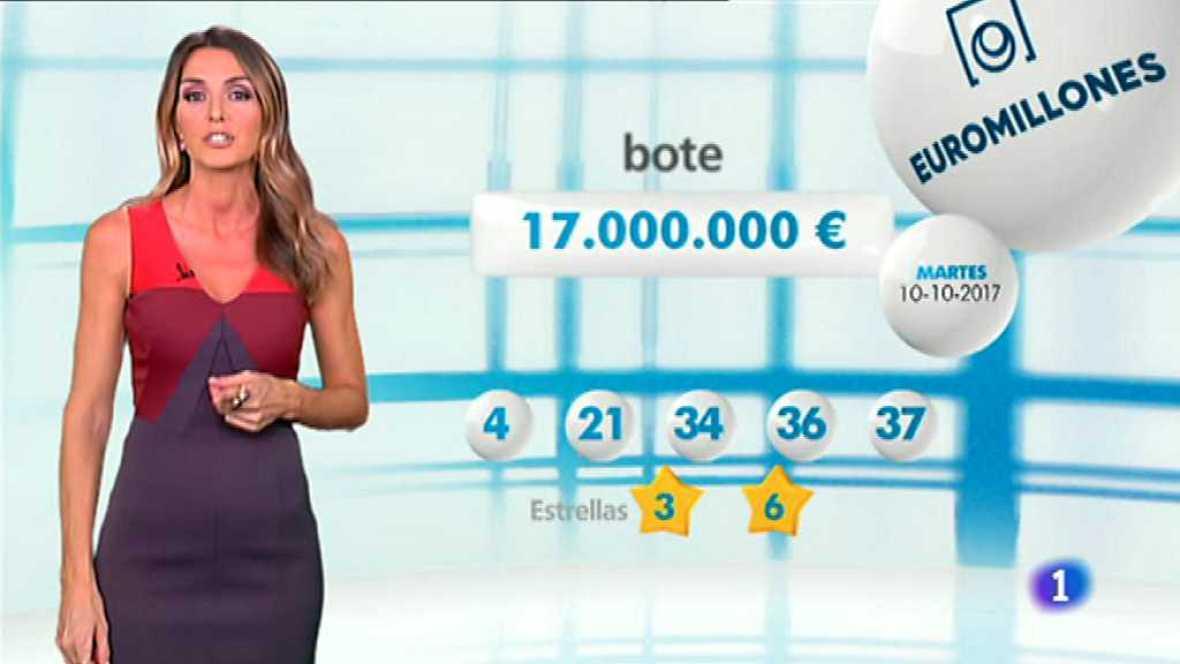 Bonoloto + EuroMillones - 10/10/17 - ver ahora