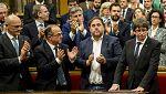 Especial informativo 24 horas - Pleno desde el Parlament de Cataluña (2)