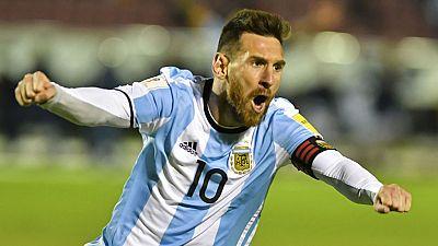 Messi clasifica a Argentina para el Mundial