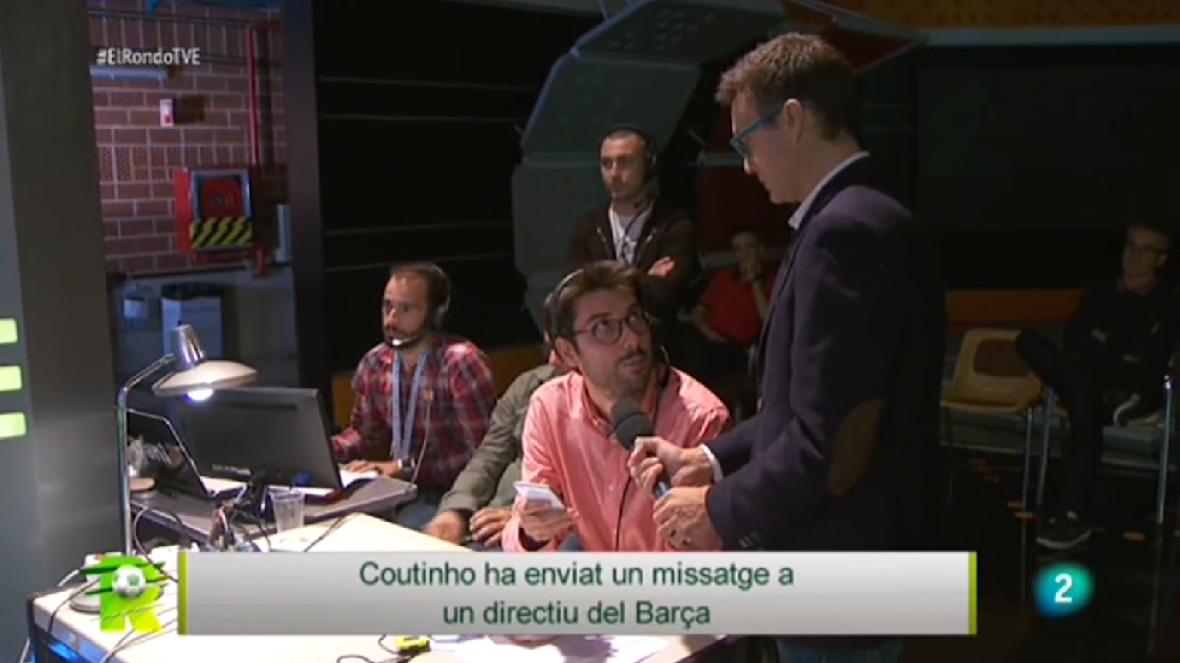 Missatge de Coutinho a un directiu blaugrana
