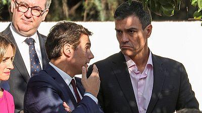 Fiesta Nacional con la política marcada por el independentismo catalán