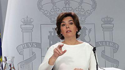 El Gobierno bajará la previsión de crecimiento si sigue la crisis en Cataluña