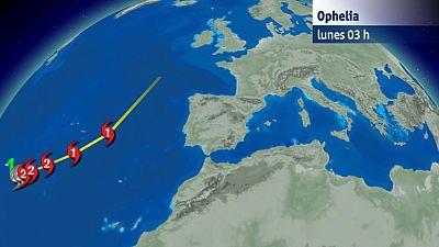 El huracán Ophelia llegará a Galicia en forma de temporal marítimo