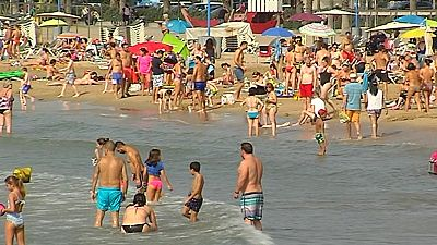 El turismo de sol y playa en el mes de octubre
