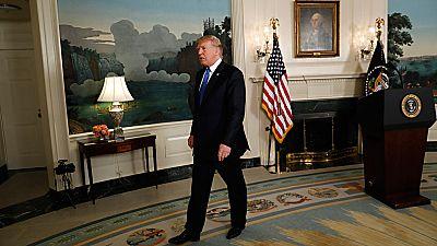 Trump amenaza con cancelar el acuerdo nuclear con Irán si no se modifica