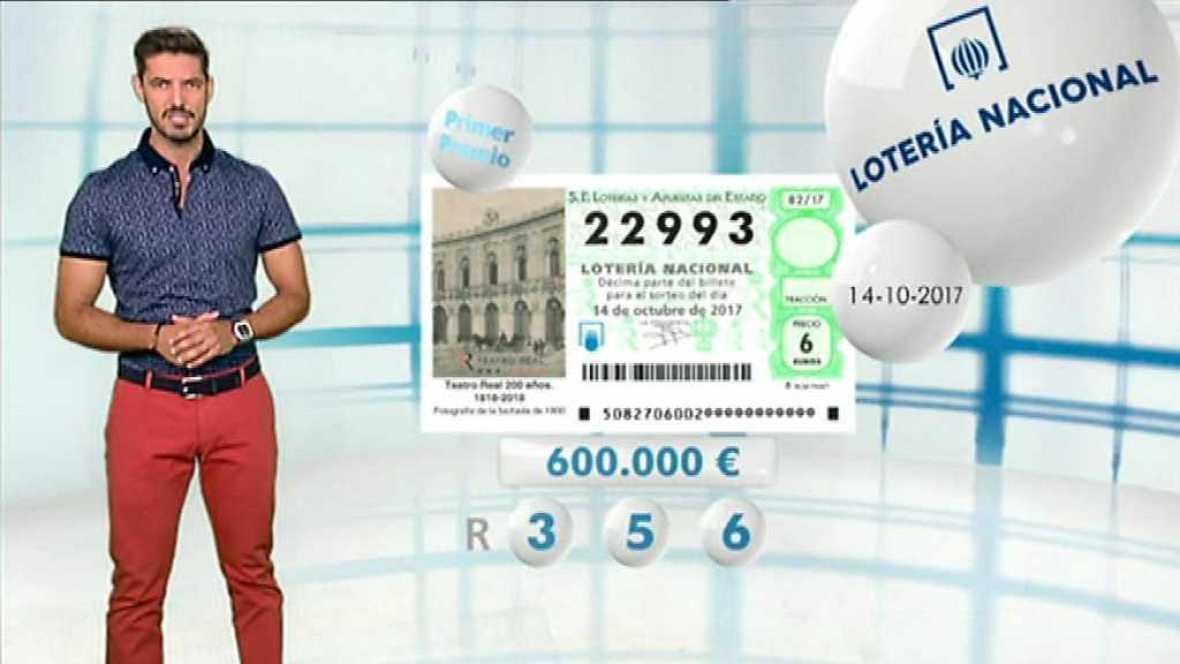 Lotería Nacional - 14/10/17 - ver ahora