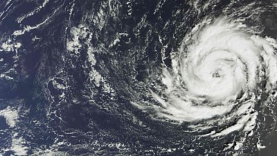 Ophelia, el primer gran huracán que llega al Atlántico oriental