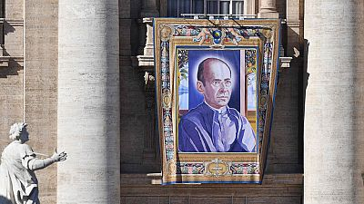 El papa Francisco proclama santo al sacerdote español Faustino Míguez