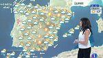 Viento fuerte en el norte y descenso de las temperaturas